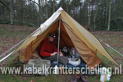 Cor de Groot kamperden kerst 2011 SBB Lies Terschelling